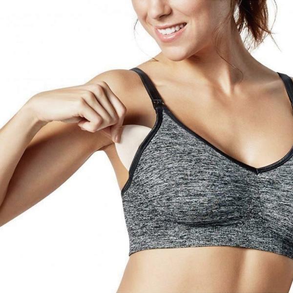 加拿大 Bravado 絲雅哺乳內衣-瑜珈款(2色可選) Body Silk Seamless Yoga