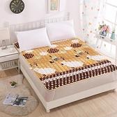 保暖法蘭絨床墊防滑家用床珊瑚絨加厚墊褥榻榻米軟墊【英賽德3C數碼館】