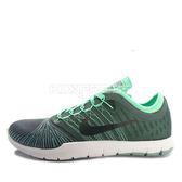 Nike WMNS Flex Adapt TR [831579-302] 女鞋 運動 休閒 多功能 訓練 避震 綠 黑