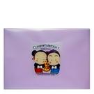 【奇奇文具】活動10元 HFPWP 紫色福娃文件袋 台灣製 CC230-2
