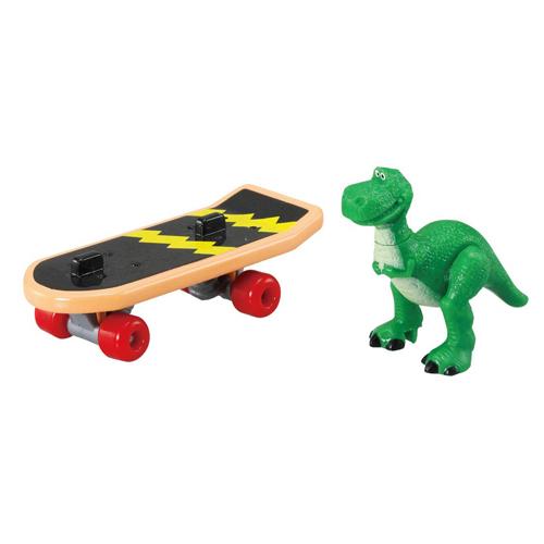 迪士尼小汽車 玩具總動員 抱抱龍&滑板_DS13394