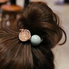 水晶圓球糖果色髮束 髮繩 X1546