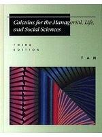 二手書博民逛書店 《Calculus for the managerial, life, and social sciences》 R2Y ISBN:0534935664│S.T.Tan