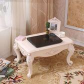 歐式飄窗桌炕桌榻榻米茶几茶几桌子棋桌床上桌小矮桌地台窗台桌wy【奇趣家居】