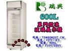 微凍展示冰箱/600L冷凍展示櫥/立式微...