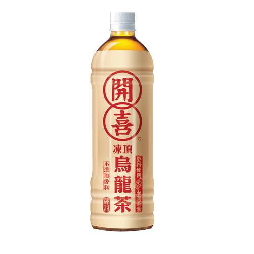 開喜凍頂烏龍茶-清甜575ML*4入/組【愛買】