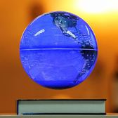 懸浮地球儀6寸磁懸浮地球儀情人節創意年終慶典開業生日送禮高檔辦公桌擺件igo 曼莎時尚