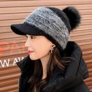 限時特銷 韓版女秋冬鴨舌帽百搭網紅可愛加絨針織帽冬季保暖時尚毛線帽子