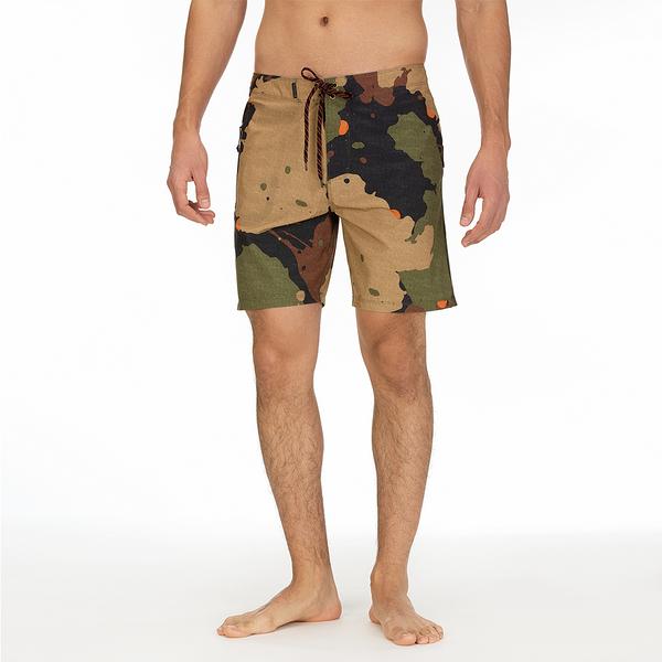 Hurley  PHTM JJF5 RECRUIT 18 LEGION GREEN  海灘褲--(男)
