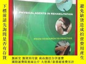 二手書博民逛書店Physical罕見Agents in Rehabilitati