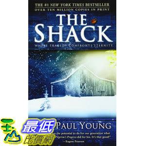 [104美國直購] 美國暢銷書排行榜 The Shack Mass Market Paperback