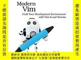 二手書博民逛書店Modern罕見VimY364682 Drew Neil Pragmatic Bookshelf 出版201