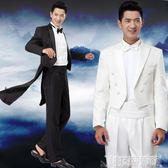 西裝套裝 結婚禮服 正韓男士燕尾服套裝 儀禮服 大合唱舞臺演出服  科技藝術館