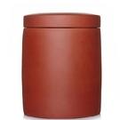 收納茶葉罐-直筒簡約手工大罐紫砂泡茶品茗花茶罐2款71d6【時尚巴黎】