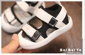 學步鞋 寶寶涼鞋男0-1歲夏季夏天兒童女童小童包頭鞋子嬰兒軟底學步鞋2  寶貝計畫