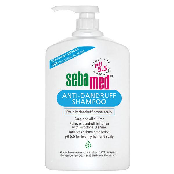 全新 德國施巴Sebamed pH5.5 油性洗髮乳1000ml  總代理公司貨