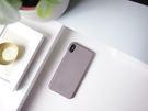 Alto iPhone Xs 真皮手機殼背蓋 5.8吋 Original - 礫石灰【可加購客製雷雕】皮革保護套