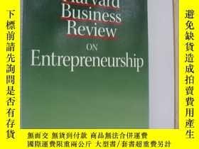 二手書博民逛書店Harvard罕見Business Review on Entr
