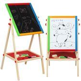 兒童早教學習磁性黑板寫字板立式小孩雙面大號畫板禮物升降支架式T