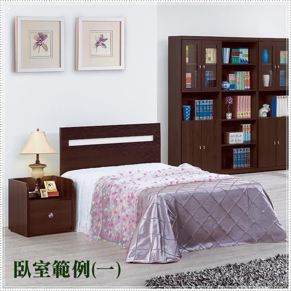 【水晶晶家具/傢俱首選】安寶3.5呎耐磨橡木單人床頭片(不含床底)~~雙色可選CX8286-7