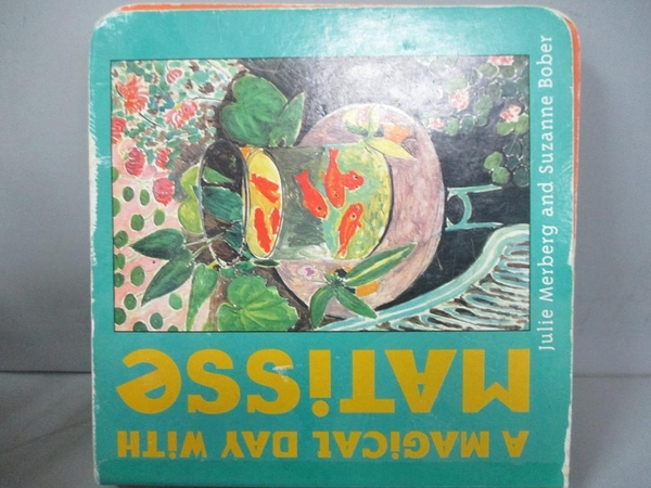 【書寶二手書T2/原文小說_MAM】A Magical Day With Matisse_Merberg, Julie/