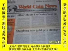 二手書博民逛書店World罕見Coin News(Vol.20,No.9)(Ap