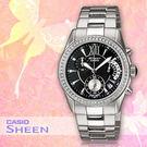 CASIO手錶專賣店 卡西歐 SHEEN SHN-5505D-1A  女錶 典雅羅馬數字 藍寶石玻璃錶面不繡鋼錶帶