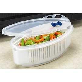 微波保鮮盒 微波多功能煮麵(蔬菜)鍋