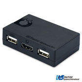 日本RATOC 2-Port HDMI USB電腦KVM切換器 (REX-230UH)