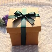 特大零食空投箱禮盒正方形抖音同款生日禮物包裝盒禮品紙盒❥全館1元88折鉅惠