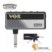 【隨身前級效果器】【 VOX amPlug2 Metal】【日本製造】 【全新二代/加贈輸出轉接頭/AP2-MT】