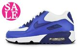 NIKE運動鞋 AIR MAX 90 MESH (GS)大童鞋 氣墊 跑鞋 零碼出清M7263#藍◆OSOME奧森童鞋/小朋友