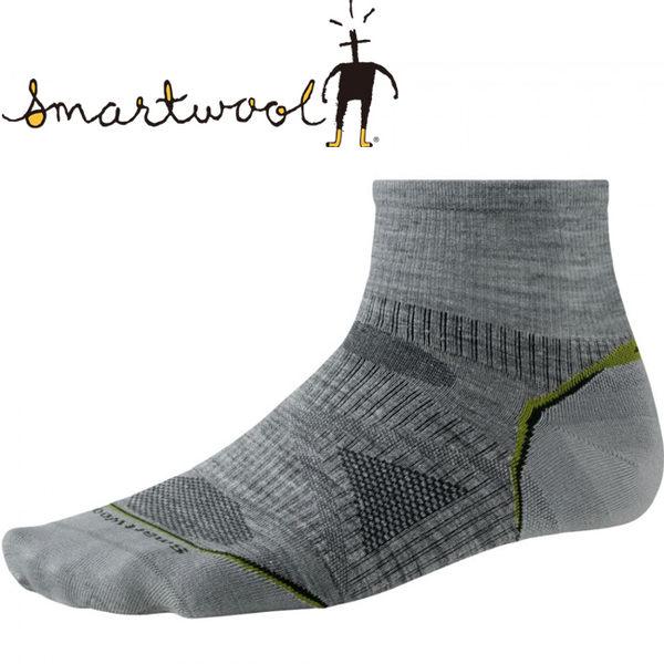 SmartWool 040-039灰 男PhD短筒羊毛登山襪(輕薄) 美麗諾羊毛襪/機能排汗襪/戶外健行襪/雪襪
