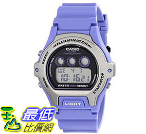 [美國直購] 手錶 Casio Womens LW-202H-6AVCF Illuminator Stainless Steel Watch with Blue Band
