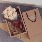 生日禮物女生閨蜜送女友浪漫玫瑰香皂花束禮盒diy韓國創意情人節  無糖工作室