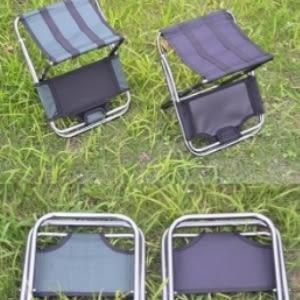♥賀年新款♥【yy】戶外燒烤椅子折疊椅超輕鋁合金寫生椅子燒烤椅子