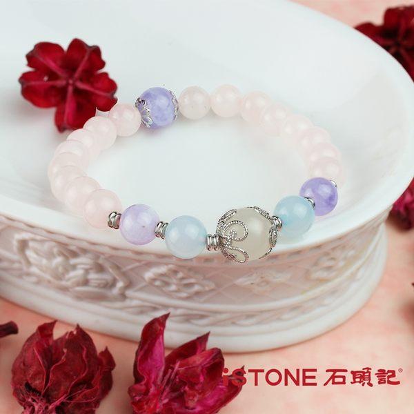 粉晶手鍊-甜蜜花園 石頭記