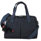 Kipling Gianna 波紋保齡球包 波士頓包 兩用包 斜背包(黑色)-KI05420EK