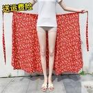 民族風一片式圍裹裙泰國一千式連衣裙半身沙灘巾系帶旅游拍照防曬 小艾新品
