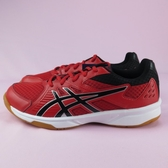 【iSport愛運動】Asics 亞瑟士 ATH 鞋類 排羽球 UPCOURT系列 1071A019602 男 紅