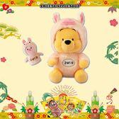 (現貨&樂園實拍圖)   東京迪士尼 新年限定  亥年 (豬年)干支 小熊維尼&小豬 玩偶娃娃