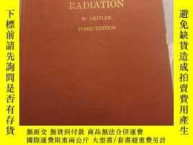 二手書博民逛書店THE罕見QUANTUM OF RADIATION(輻射的量子理論)精裝 有筆記Y285686