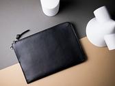 "iPad Pro 11""/10.5″ 皮革收納包 – 渡鴉黑 2020新款iPad 8/ iPad Air 適用"