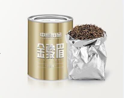 【1罐裝-125g】金駿眉紅茶散裝茶葉蜜香型特級金俊眉禮盒袋裝罐裝