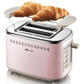 小熊烤面包機家用2片早餐吐司機多功能雙面加熱全自動 熊熊物語