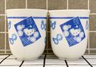 【震撼精品百貨】Hello Kitty 凱蒂貓~三麗鷗KITTY日本泡茶杯/對杯-和風#04150