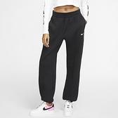 Nike AS W NSW Essntl FLC HR Pnt Clc 女 黑 小勾 縮口 長褲 BV4090-010