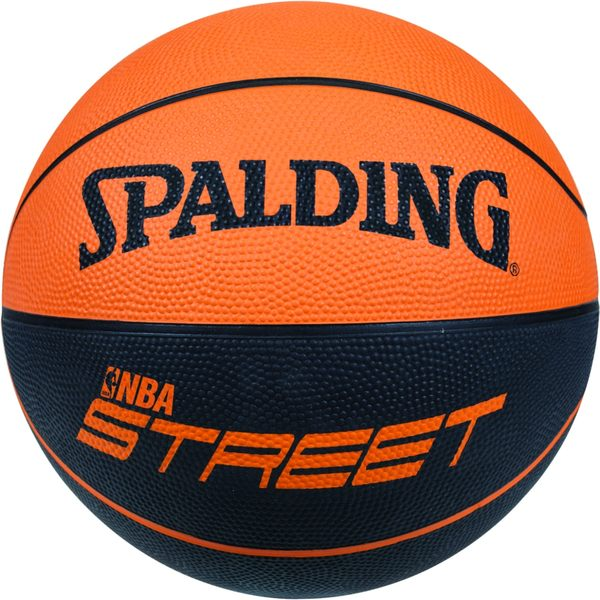 SPALDING斯伯丁籃球 NBA Street雙色系列-橘/黑 #7-SPA73840(含運費)