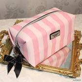 大容量化妝包 清新時尚 蝴蝶結拉頭 居家旅行洗漱包收納包女式包袋 OO7100『pink領袖衣社』