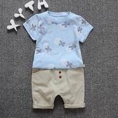 男童季套裝男孩兩件套嬰兒童裝寶寶短袖裝1一2-3-4-5歲衣服  伊衫風尚